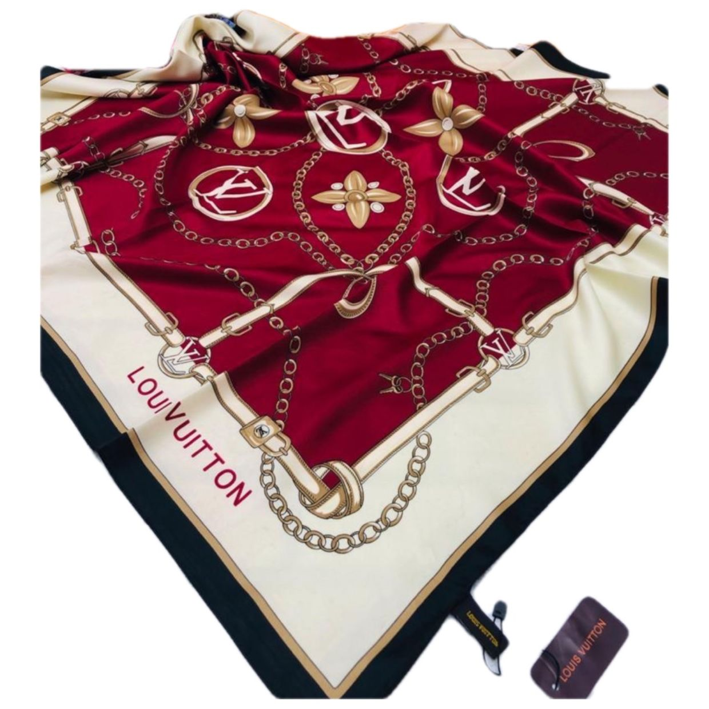 шелковый платок женский брендовый