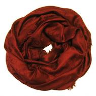 Платок Louis Vuitton бордовый, 1158