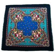 Платок шерстяной Tranini 0427 синий