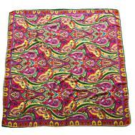 Платок шерстяной Tranini 0478 розовый