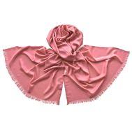 Палантин Tranini 1729 из хлопка розовый