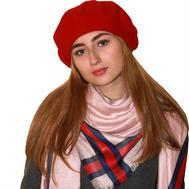 Берет женский Tonak 01610 красный