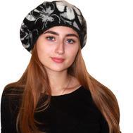 Берет женский 5701 черный