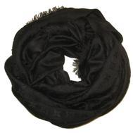 Шаль Louis Vuitton Monogram черный 1107