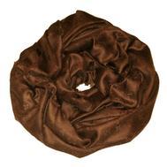 Шаль Louis Vuitton молочный шоколад 140х140