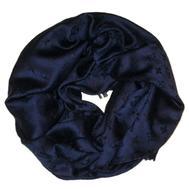 Платок Louis Vuitton темно-синий 140х140