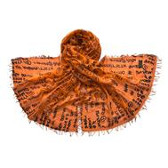 Палантин Tranini 4936 из микромодала  оранжевый