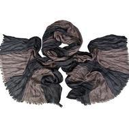 Мужской жатый шарф 0451 PAL 2 из хлопка с вискозой