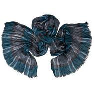 Мужской жатый шарф 0427 PAL 2 из хлопка с вискозой