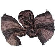 Мужской жатый шарф 0454 PAL 2 из хлопка с вискозой