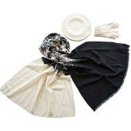 Комплект (берет, палантин, перчатки) Tranini 45062