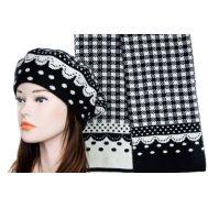 Комплект женский Tranini берет и шарф 0139