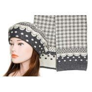 Комплект женский Tranini берет и шарф 0141