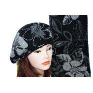 Комплект женский Tranini берет и шарф 0058