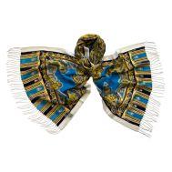 Палантин Tranini женский шерстяной голубой 1201