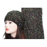Комплект женский Enrico Coveri, шапка и шарф,0996