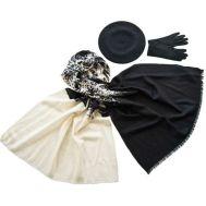 Комплект (берет, палантин, перчатки) Tranini 45061