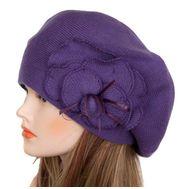 Берет женский Tranini 05375 фиолетовый