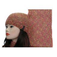 Комплект женский Enrico Coveri, шапка и шарф,0990