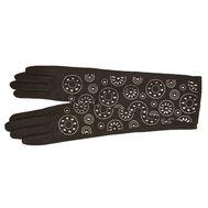 Перчатки удлиненные женские Tranini из шерсти 40803
