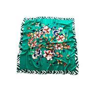 Платок хлопковый Tranini 3902 зеленый