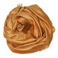 Платок женский Gucci золотистый, 6018