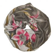 Шелковый платок Kenzo серый, 6030