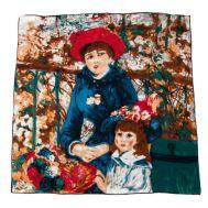 Платок шёлковый женский Tranini картина 0601