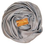 Шелковый женский платок Gucci серый 6031