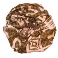 Платок шелковый LOUIS VUITTON коричневый 1196