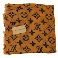Платок Louis Vuitton горчичный, 1170