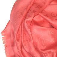Платок Louis Vuitton коралловый, 1120