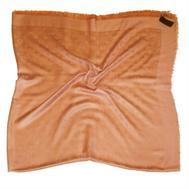 Шаль Louis Vuitton персиковый 140х140