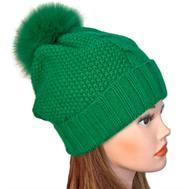 Шапка женская Tranini зеленая 0088
