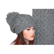 Комплект женский Tranini 5026 ART-1501B-1578 шапка+шарф