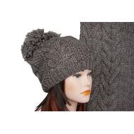 Комплект женский Tranini 5028 ART-1501B-1578 шапка+шарф