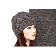 Комплект женский Tranini 5001 ART-1574-1575 шапка+шарф