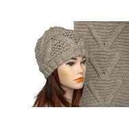 Комплект женский Tranini 5003 ART-1574-1575 шапка+шарф
