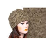 Комплект женский Tranini 5002 ART-1574-1575 шапка+шарф