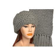 Комплект женский Tranini 5129 ART-1387-1499S шапка+шарф