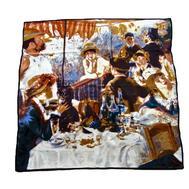 Платок картина Tranini из шелка 1076 PLATOK 3