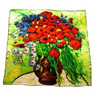 Шелковый платок картина Tranini 1252 PLATOK 3