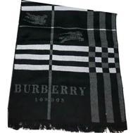 Шарф мужской Burberry черный 1-0001