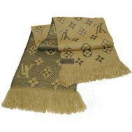 Шарф Louis Vuitton Logomania бежевый 60006