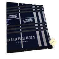 Шарф мужской Burberry синий 1-0003