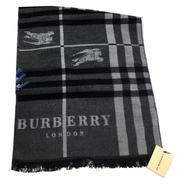 Шарф мужской Burberry серый 1-0004