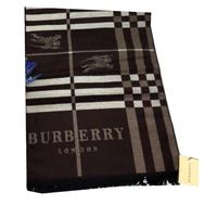 Шарф мужской Burberry коричневый 1-0002