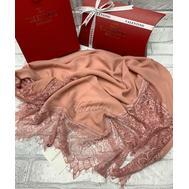 Платок шелковый Valentino 5017 бежевый