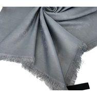 Платок Louis Vuitton женский серый с люреском 4011