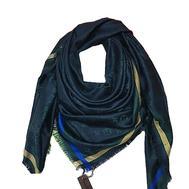 Платок Louis Vuitton синий 4002